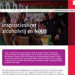 Inspiratiesheet Alcoholvrij en NIX18