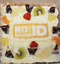 NIXzonderID taart
