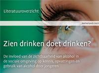 Factsheet Zien drinken doet drinken?