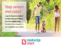 Bestel nu posters en visitekaartjes Rookvrije Start