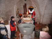 Waspiet op kasteel Cannenburch