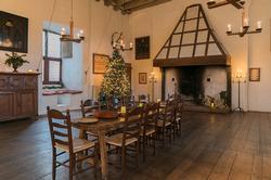 kerstsfeer in kasteel Ammersoyen