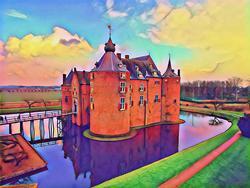 kasteel Ammersoyen-expositie Kunst_Kiezel_en_Klei