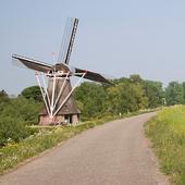 molen langs de dijk op landgoed Waardenburg en Neerijnen